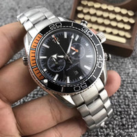 Wholesale Japanese Quartz Chronograph Movements - 2018 AAA Top Luxury Brand Men's Chronograph Watch Stainless Steel Japanese Quartz Movement Sports Men Watches Wristwatch