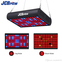 Wholesale Led Blooming Grow Light - 300W LED Grow Light Panel Full Spectrum with IR Veg & Bloom Dual Mode JCBritw Growing Lamp Aluminum Made with Extendable Jack for Greenhouse