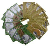 gesichtsmasken groihandel-20 Paare / los Anti-Falten-Kristallkollagen-Augenmaske beseitigt Augenringe und feine Linien Weißgold-Augenklappen Gesicht Hautpflege