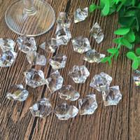 gemas de diamante de cristal acrílico venda por atacado-Jóias de diamante Peito Do Tesouro Pirata Acrílico Cristal Gems Vase Filler baby shower Crianças presentes