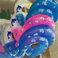 chaleco inflable bebé al por mayor-Grueso inflable nadar brazo anillos piscina juguetes flotador bebé niños chaleco salvavidas niños agua Buory para nadar 11 5jy dd