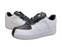 Wholesale tai gold - INS HOT 1 07 Premium White Black Split Forced 1 Skateboard Shoes Yin Yang Tai Chi Sneakers Red Orange Split Shoes