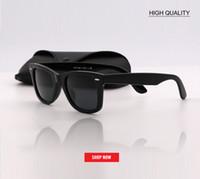 Wholesale waterproof uv - brand Design uv protection black len Sunglasses Women Outdoor square Glasses Luxury Ladies 52mm size gafas UV400 G15 LENS Eyewear for men