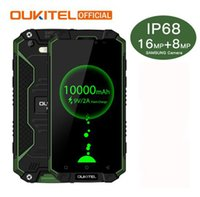 Wholesale Shockproof Android Gps - Oukitel K10000 Max IP68 Waterproof Dustproof Shockproof MTK6753 3G RAM 32G ROM 10000mAh 5.5 FHD Fast Charge Touch ID Smartphone