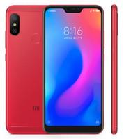 xiaomi phone оптовых-Оригинал Xiaomi Redmi 6 Pro глобальной прошивки сотовый телефон Octa Core 4 ГБ/64 ГБ двойной задней камеры AI 5.84