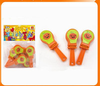 soyguncu oyuncağı toptan satış-Cadılar bayramı Mini Ses Clappers civciv tavuk tavuk Goody Çanta parti Favor oyuncaklar Pinata Carnivals Clicker Ses Maker MMA824