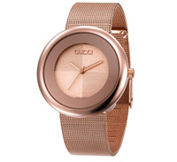 Wholesale girls watches online - Gold Super Party Dress rose gold woman diamond flower watches brand luxury nurse ladies dresses female Clock wristwatch gifts for girls