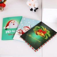 tierkreuzkarten großhandel-3 stück tier thema einladungskarte diamant malerei kreuzstich karte halloween weihnachten geburtstag diamant malerei einladung