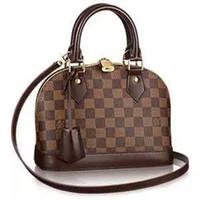 Wholesale louis bag online - 2018 LOUIS vuitton WOMEN LEATHER Shell Package  ALMA BB Shoulder LOUIS 53672bd7ec9