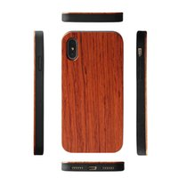 Wholesale iphone engraved back for sale – best Custom Engraved Hawaii Wood Phone Case For Iphone PLUS X xs max XR Natural Wooden Bamboo Soft TPU Back Cover For Samsung S10 S10e