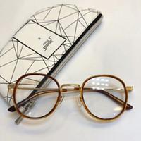 aab8c2f465 luxury brand glasses Prescription YELL rimless gold frame leopard animal  logo optical for men design clear glass ultralight france designer