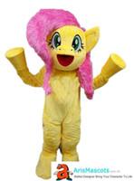 özel elbiseler satın al toptan satış-Yetişkin boyutu funnylittle pony kostüm maskot elbise karikatür karakter kostümleri satın maskotlar onlineDeguisement Mascotte Özel Maskotlar