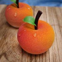 molde de maçã de silicone venda por atacado-Molde da Apple, molde do bolo da musse da maçã, silicone verde comestível do chocolate, alta temperatura e baixa temperatura