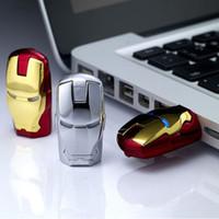 adata flash sürücüler bellek çubukları toptan satış-Demir Adam Kalem Sopa Avengers Kaptan Amerika 64g USB Flash Sürücü Disk Kalem Sürücü Usb Memory Stick U42