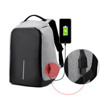 Wholesale laptop theft for sale - New USB Charge Anti Theft Travel Backpack Laptop Backpacks For Casual Travel Teenager Student School Notebook Laptop Bag
