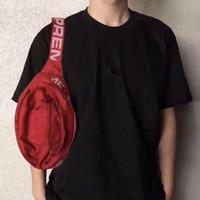 Wholesale denim canvas bags - Designer Waist Bag 18SS 3M 44th Sup Unisex Fanny Pack Fashion Waist Men Canvas Hip-Hop Belt Bag Men Messenger Bags Shoulder Bag 3M