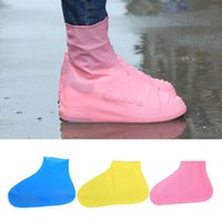Wholesale gadget shoes - Wholesale Outdoor Hiking Tool Gadgets Anti-slip Reusable Rain Shoe Covers Waterproof Unisex Shoes Overshoes Boot Gear