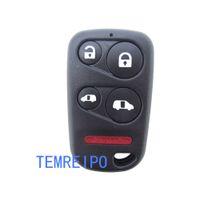 ingrosso gusci a distanza del pulsante honda-Smart Remote Car Key Housing No Chip Fob per Honda Remote Accord Fit Civiv Fit CRV XRV Jade 4 + 1 Button Remote Shell chiave