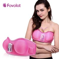 vibradores para senos al por mayor-Ampliación de la mama Cuidado de la salud Mejorador de belleza Crecer Bigger vibrante Masajeador Sujetador Masajeador de la cabeza del pecho Dispositivo de vibradores