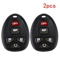 auto key fobs großhandel-HLEST Remote Key Case Shell 5-Tasten-Schlüsselanhänger Keyless Entry Control für Pontiac G5 Chevrolet Malibu Auto Control Fob Cover Gehäuse