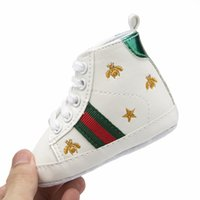 Wholesale slip sneakers wholesaler - 17 Styles Children Soft Bottom Sneakers Shoes Fashion Baby Boys Girls First Walkers Baby Indoor Non slip Toddler Casual Kids Shoes