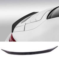 fibra de carbono porsche al por mayor-VO-R Style Carbon fiber Trunks Spoiler Fit para Porsche 911