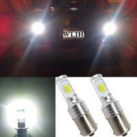 Wholesale T6 Led Light Bulb - WLJH Canbus Led High Bright 1156 BA15S P21W S25 Bulb Car Lamp DRL Daytime Running Light for Volkswagen VW T5 T6 TRANSPORTER