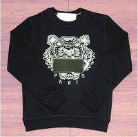 kış toptan satış-Yeni Marka Kaplan Kafası Hoodie Tasarımcı Işlemeli Erkek Kadın Tişörtü Sonbahar Kış Unisex Hoodies Casual Streetwear Jogger Eşofman