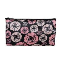 розовый нейлоновый мешок оптовых-Модные женские косметические сумки портативные маленькие розовые сумки для хранения мини-сумка для хранения помады хорошее качество нейлоновые косметические сумки оптом