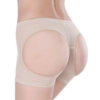ingrosso biancheria intima-Donne Sexy Butt Lifter Brand New Body Shorts Enhancer Slip Biancheria intima Booty Shaper Top S / M / L / XL / XXL / XXXL