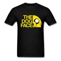 lustige hundet-shirts großhandel-Animation Adventure Time T-Shirt Finn und Jake Tshirt Mann Der Hund Gesicht lustig Cartoon 3D-Druck Unisex T-Shirt Männer T-Shirt Pullover