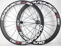 Wholesale Chinese Road Bicycles - chinese carbon bicycle wheelset width 23mm 700c oem paint sticker carbon clincher road bike wheel 50mm ceramic hub