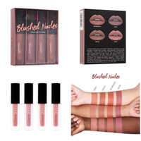 Wholesale lipstick power online - Liquid Lipstick Kit set Blushed Nudes Power Pinks Au Naturel Nudes Liquid Matte Mini Lipstick x ml