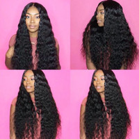 paquetes de pelo afroamericano al por mayor-10A Grado Brasileño Natural Wave Paquetes de cabello humano Tejido Cabello Cabellos humanos Brasileño Pelo virginal Para afroamericanos Mujeres 3 paquetes