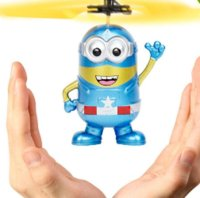 Wholesale 2018 Hot Sale Flashing helicopter Hand Control RC Toys Minion Helicopter Quadcopter Drone Ar drone with LED with remote control