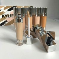 Wholesale Dark Foundations - 2017 Newest Kylie Jenner 12 Colors Concealer Foundation Fair To Deep By Kylie Cosmetics Free shipping