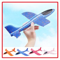 Wholesale toys for boys helicopter resale online - 48cm Flying Toy Foam Throwing Glider Air Plane Inertia Aircraft Toy Hand Launch Airplane Model for Kids Children Boy Girl as Gift