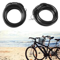 steel bike cable Canada - New Bike 5 Digit Code Combination Security 100*100*25mm Steel Cable Spiral Bike Cycling Bicycle Lock