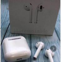 controles usb venda por atacado-Fones de ouvido Sem Fio Bluetooth Fones De Ouvido Fones De Ouvido BT 5.0 SiRi Tocando o Botão de controle PK I7S I8X I9S para o iPhone Samsung