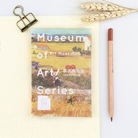 Wholesale museum art - 30 pcs pack Creative Art Museum Greeting Card Postcard Birthday Gift Card Set Message