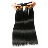 Wholesale discount hair weave extensions for sale - Group buy The Final Discount Brazilian Virgin Hair Weave a Unprocessed Straight Hair Extensions Inchs Brazilian Human Hair