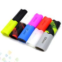 сумки оптовых-SX мини G класс кожаный чехол линия силиконовой резины рукав защитный анти-царапинам чехол кожи чехол сумка для SXmini VAPE MOD DHL бесплатно