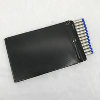plumas de tinta retráctil al por mayor-12 unids / caja tipo tornillo medio punto negro / azul tinta Rollerball repuesto para MB plumas buena escritura