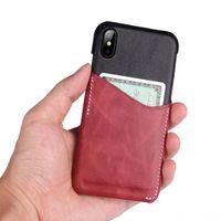 ingrosso caso del portafoglio di iphone di apple-Custodia rigida in pelle di vacchetta originale coccodrillo di lusso 3D Custodia rigida in pelle di coccodrillo per iphone X Custodia rigida per iPhone 6s 7 8