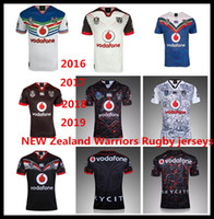 Wholesale red warriors - 2016 2017 2018 2019 NEW Zealand Warriors Rugby jerseys Auckland NRL the star premiership ALL BLACKS RWC Super RUGBY home away rugby Shirts
