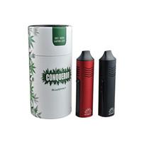pantallas de lápiz vape al por mayor-Auténtico Conqueror kit de inicio de vaporizador de hierba seca vape pen E cigarrillo 2200 mah capacidad de la batería Con pantalla OLED Carga USB para tabaco