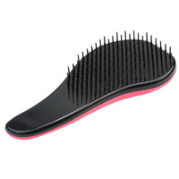Wholesale wig brushes combs - Loop Pin Cushion Static Hair Extension Wig Pink Beauty Brush Comb Hairs Care