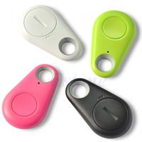 foto billetera al por mayor-Inteligente Bluetooth GPS Tracker con batería para niños Pet Bag Wallet Key Dog Car Motorcycle Mini Smart Tag Alarm Tracker Pictures