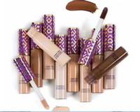 Wholesale medium makeup box resale online - New Makeup Shape Tape Concealer contour colors box ml contour concealer Fair Light Medium Tan Light sand Deep DHL Shipping