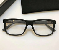 Wholesale Brand New Rims - Matte Black Designer 1045 Eyeglasses Frame Glasses 1045 N Full Rim Optical Frame Fashion Sunglasses Frame Eyewear Brand New with Box